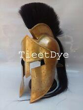 300-king Leonidas spartan helmet With  Black Plum