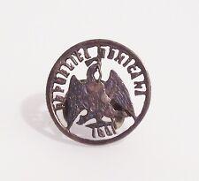 Vintage Coin Jewelry 1881 Silver centavos Republica Mexicana Mexico Victorian