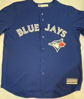 Majestic MLB Toronto Blue Jays Cool Base Blue Blank Jersey Men's Size XL new