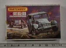 Lot 4-142 * Matchbox 1:76 Scale kit PK-88, Krupp Protz Kfz.69 w/3.7cm Gun