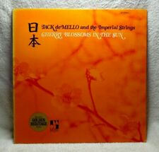 """Jack de Mello and Imperial Strings """"Cherry Blossoms In The Sun"""" LP 33 rpm record"""