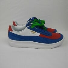 PUMA GV Special Primary Sneakers Shoes White Red Blue Men's Size 9.5