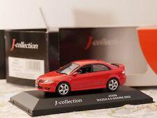 J-COLLECTION MAZDA 6 5- DOORS 2002 RED ART. JC029 1:43 DIE- CAST NEW