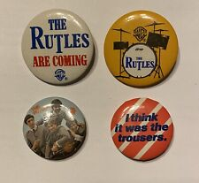 The RUTLES s/t 1978 Warner Bros. PROMO Only BUTTON set (4) Monty Python BEATLES