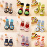 Newborn Baby Boy Girls Anti-slip Sock Shoes Cartoon Boots Slipper Socks 0-24M CC