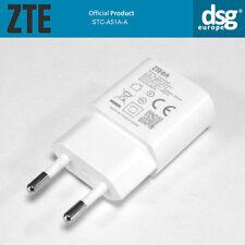 ORIGINAL ZTE STC-A51A-A EU CHARGER PLUG Output 5V / 1000mA WHITE