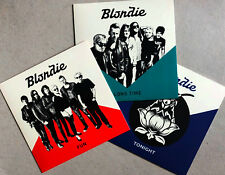 "BLONDIE * FUN / LONG TIME / TONIGHT * LIMITED EDITION 7"" VINYL SINGLES * BN&M!"