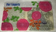 """PIER 1 IMPORTS GIFT CARD """"PLANTS"""" NO VALUE COLLECTIBLE CANADA NEW 2015"""