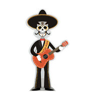 Day of the Dead Guitar Player Lifesize Cardboard Standup Cutout Standee 2390