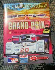 Sports Car Grand Prix Ferrari Las Vegas Motor Speedway 1997 Souvenir Program