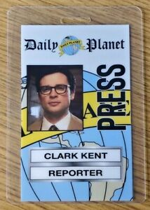 Superman Smallville ID Badge-Clark Kent Reporter costume prop cosplay Style B