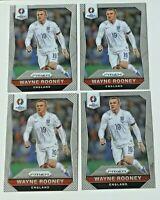 2016 Panini Prizm Euro Wayne Rooney Lot (4) #55 England