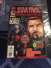 COMIC BLOWOUT: Star Trek Unlimited AUTOGRAPHED Tom Morgan Artist - COM-50