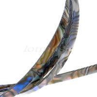 2pcs 5 Feet Guitar Binding Purfling 1650x10mm Strip,Abalone Pearl Celluloid
