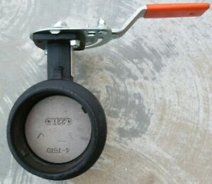 """Victaulic Butterfly Valve, 4"""", 300MS Series, V040761SE2  NEW OLD STOCK"""