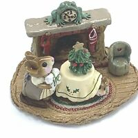 Wee Forest Folk Miniature Figurine M 191 Christmas Eve First Issue
