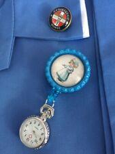 Genuine Design  Retractable Nurses Fob Watch