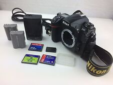 Nikon D300 DSLR in good condition. Includes several accessories