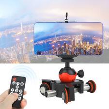 LENSGO L8X Camera Video Dolly Track Slider for Phone Cameras W/Remote Controller