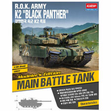 ACADEMY #13511 1/35 Plastic Model Kit R.O.K. Army K2 Black Panther