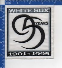 Authentic MLB- Chicago White Sox 95 years anniversary patch NOS