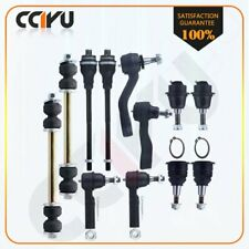 For GMC Sierra 2500 3500 12Pcs Front Pitman Arm Tie Rods Sway Bar Links Kit