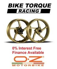 Gold OZ Piega Wheels Kawasaki ZRX1200 01-06 Interest Free Credit Available