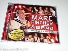 MARC PIRCHER & BAND MEHR ALS 7 SÜNDEN CD INKL DUETT MIT FRANCINE JORDI & MELANIE