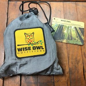 Wise Owl Outfitters Talon Hammock Straps - Combined 20 Ft Long, 38 Loops W