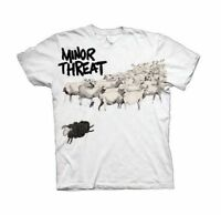 MINOR THREAT OUT OF STEP ROCK PUNK BAND MUSIC ADULT T TEE SHIRT MENS SIZE S-XL