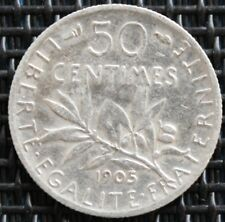 France 50 Cents Sower 1905