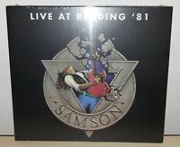SAMSON - LIVE AT READING '81 - CD