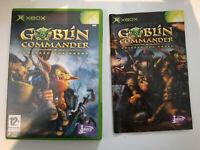 goblin commander unleash the horde pal fr xbox 1ère génération