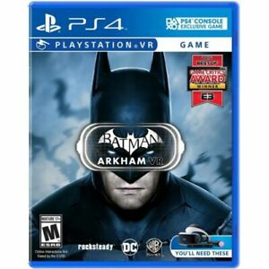 Batman Arkham VR PS4 Game (PSVR Required) usa