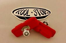 Kool Stop CONTINENTAL brake BMX pads for mag wheels Skyway Tuff ACS * red