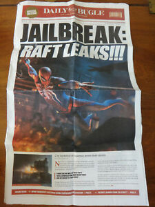 E3 2018 Promo DAILY BUGLE Spider-Man Newspaper - Sony PS4