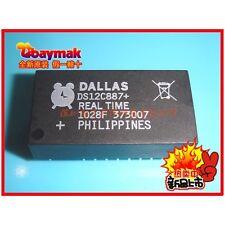 2PCS X DS12C887 + PDIP 18 Reloj Calendario Chip MAXIM