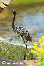 La Hacienda Metallo Airone Garden & Pond Bird ornamento degli animali