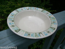 Taylor Smith Cathay rimmed Soup bowl Vintage retro Mid-Century