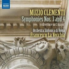 Muzio Clementi: Symphonies Nos. 3 and 4 (CD, Sep-2013, Naxos (Distributor))