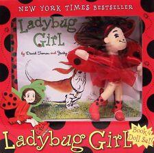 Ladybug Girl Book and Doll Set by Jacky Davis & David Soman (2011, Box Set)