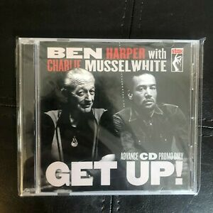 Ben Harper With Charlie Musselwhite Get Up! Advance Promo CD