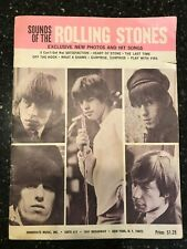 Sounds Of The Rolling Stones Song Book And Band Photos
