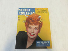 VINTAGE May 1944 Screen Romances Magazine - LUCILLE BALL Cover