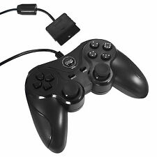 PS2 Playstation 2 und 1 Controller Doubleshock Gamepad Joypad Vibration Eaxus