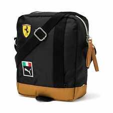 Puma Scuderia Ferrari Shoulder Bag # 075501 02 Fanwear Portable Puma Black /Gold