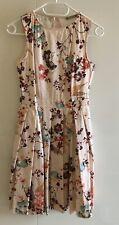 Sukienka Orsay 34 różowa kwiaty