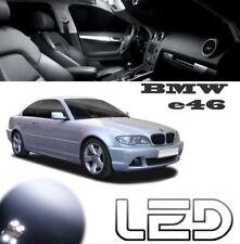 BMW e46 11 Ampoules LED blanc Eclairage intérieur Plafonnier Miroirs Pieds lampe