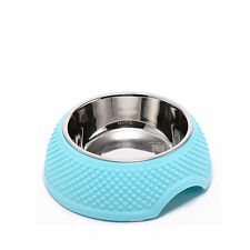High quality Stainless Steel Bowls Pet Dog Cat Food Water Feeding Dish Non Slip