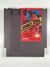 DONKEY KONG CLASSICS  - NES Nintendo ORIGINAL ARCADE Game *2 GAMES IN 1*